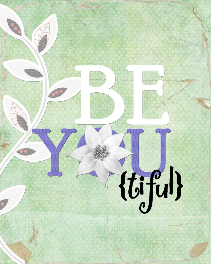 Be YOU tiful Blue Green