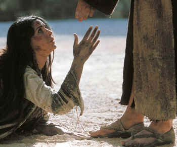 woman and Jesus