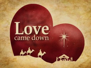 Love Came Down at Christmas – Freed to Fly