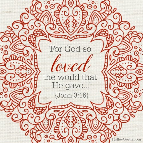 God so loved