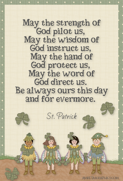 St. Patrick prayer